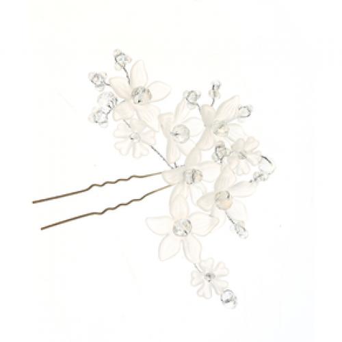 Ac de coc cu flori albe