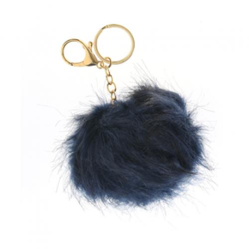 Bijuterie geanta, pufosenie bleumarin